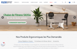 Codes promo et Offres FLEXISPOT