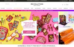 Codes promo et Offres Revolution Beauty