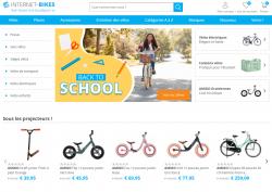 Codes promo et Offres Internet-Bikes
